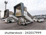 frankfurt   dec 6  boarding... | Shutterstock . vector #242017999