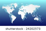 dotted world map | Shutterstock . vector #24202573