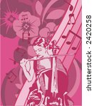 exclusive series of musician...   Shutterstock .eps vector #2420258