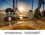 after the regatta  sunset from... | Shutterstock . vector #242026807