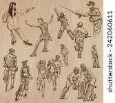 sport  set no.17    collection... | Shutterstock .eps vector #242060611