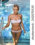 people  beauty  spa  healthy... | Shutterstock . vector #242070535