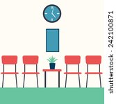 vector illustration of a hall... | Shutterstock .eps vector #242100871
