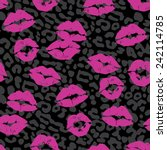 Lipstick Kiss Seamless Repeat...