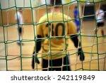 futsal goalkeeper | Shutterstock . vector #242119849