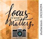photography poster | Shutterstock .eps vector #242134294