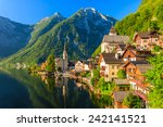Famous Hallstatt Mountain...