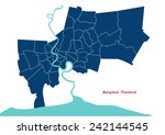 bangkok  country of thailand... | Shutterstock .eps vector #242144545