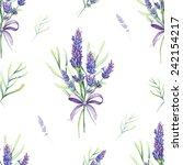 vintage pattern with provence... | Shutterstock . vector #242154217