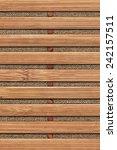 bamboo place mat grunge texture ... | Shutterstock . vector #242157511
