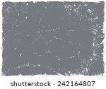 grunge texture.abstract  vector ... | Shutterstock .eps vector #242164807