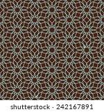 geometric seamless pattern.... | Shutterstock .eps vector #242167891