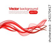 abstract background with red...   Shutterstock .eps vector #242170417