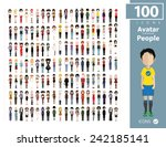 set of people | Shutterstock .eps vector #242185141