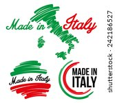 made in italy   Shutterstock .eps vector #242186527