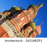 st. basil's cathedral  moscow ... | Shutterstock . vector #242188291