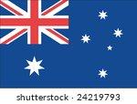 australian flag | Shutterstock . vector #24219793