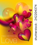 happy valentine's day   Shutterstock .eps vector #242204374