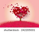 Love Tree With Heart Leaves...