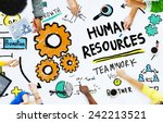 human resources employment job... | Shutterstock . vector #242213521