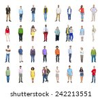 diversity ethnicity multi... | Shutterstock . vector #242213551