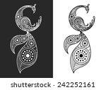phoenix bird | Shutterstock .eps vector #242252161