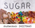 Food Containing Sugar. Too Muc...