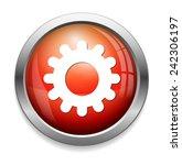 cog icon  | Shutterstock .eps vector #242306197