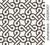 vector seamless pattern. modern ... | Shutterstock .eps vector #242309257