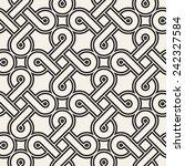 vector seamless pattern. modern ... | Shutterstock .eps vector #242327584