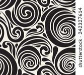 vector seamless pattern. modern ... | Shutterstock .eps vector #242327614