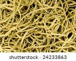 lots of rubber bands   Shutterstock . vector #24233863