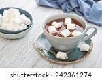 Mug With Hot Chocolate And...