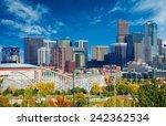 sunny day in denver colorado ... | Shutterstock . vector #242362534