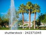 la quinta city park fountain.... | Shutterstock . vector #242371045