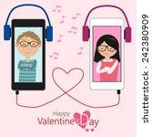 Couples Of Lover Feeling Lovel...