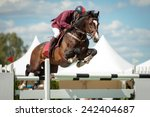 Stock photo equestrian sports themed photo 242404687