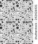cosmetics beauty elements... | Shutterstock .eps vector #242426431
