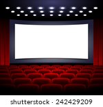 cinema | Shutterstock .eps vector #242429209
