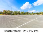 empty parking lot  | Shutterstock . vector #242447191
