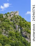 """the ruins of the castle """"stary...   Shutterstock . vector #242465761"""