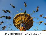 Carousel At Oktoberfest In...