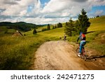 landscape. carpathian mountains ... | Shutterstock . vector #242471275