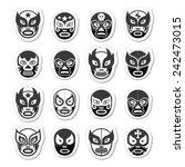 Lucha Libre  Luchador Mexican...