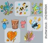 abstract shape | Shutterstock .eps vector #242484064