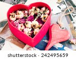 Vintage Concept   Heart With...