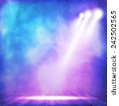 background in show. vector... | Shutterstock .eps vector #242502565