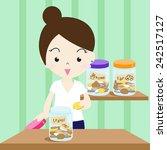 money saving tip | Shutterstock .eps vector #242517127