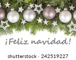 spanish christmas card with... | Shutterstock . vector #242519227