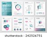 modern infographic vector... | Shutterstock .eps vector #242526751